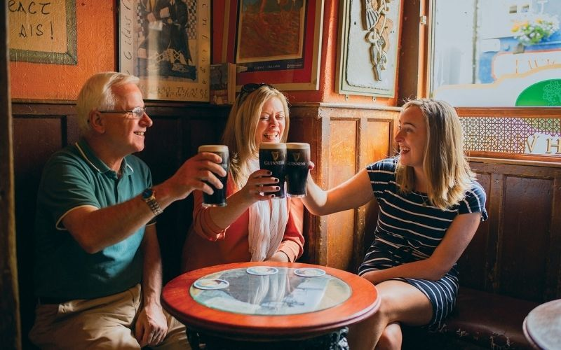 The tours include down time to let you explore and enjoy Irish towns and cities on your own