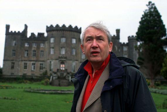 "Frank McCourt, author of ""Angela's Ashes: A Memoir""."