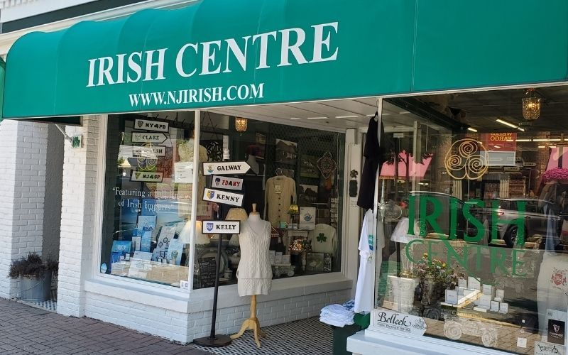The Irish Centre is considered one of the most beautiful Irish boutiques and import stores in the USA