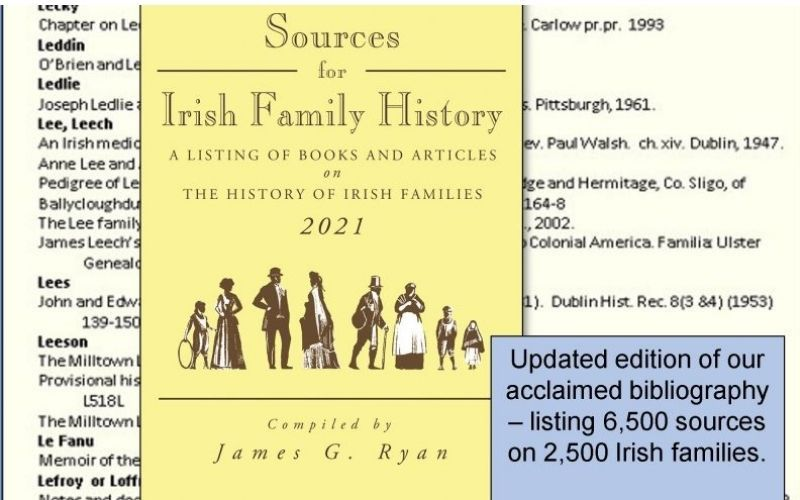 """""""Sources for Irish Family History"""" is now available as an e-book"""