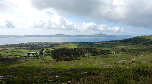 View of Mizen Head Peninsula from Sheep's Head Peninsula.