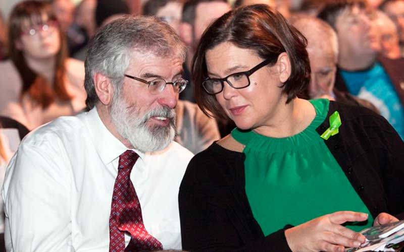 Gerry Adams and Mary Lou McDonald. Credit: RollingNews.ie