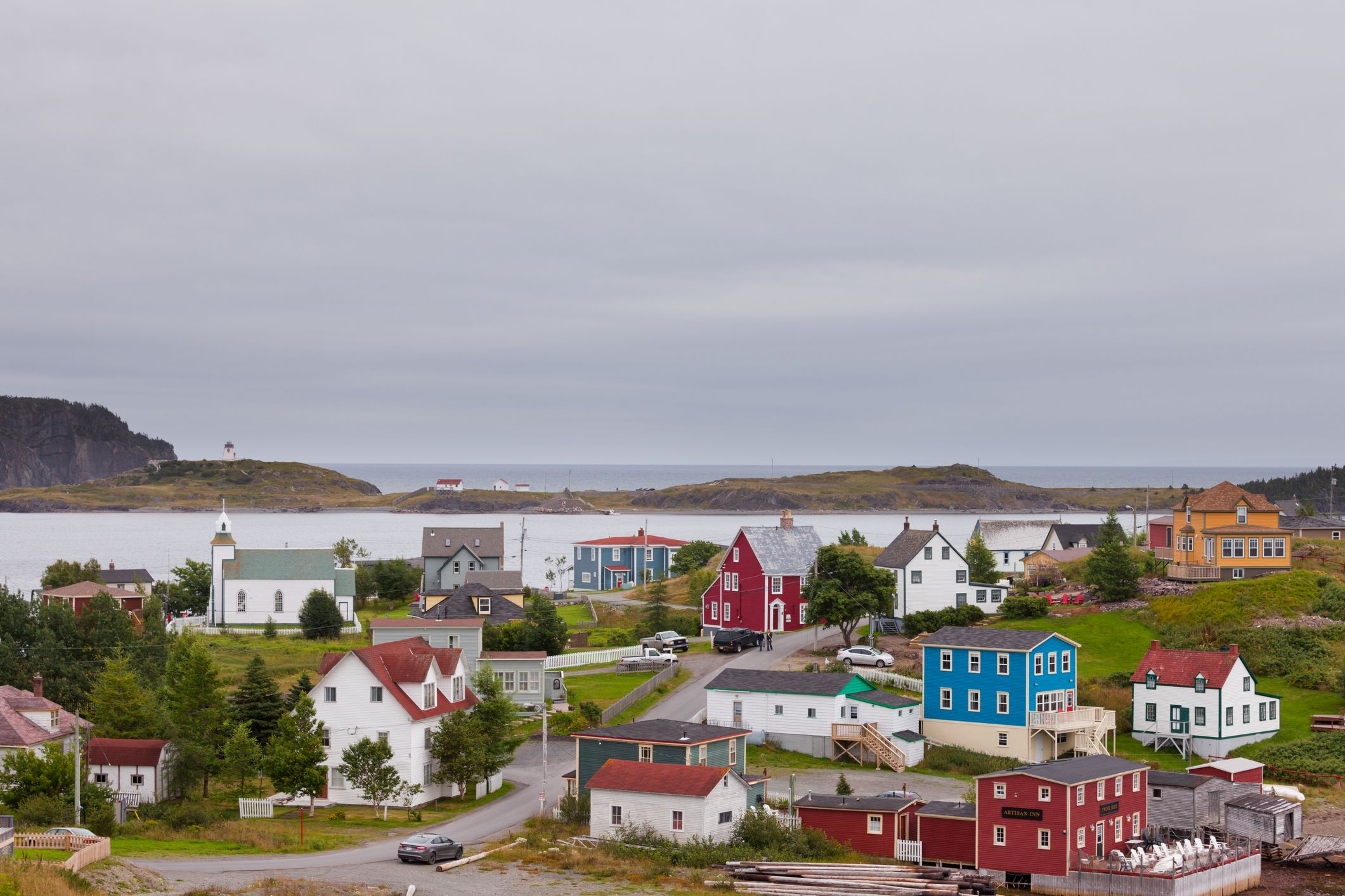 The town of Trinity. Photo: Getty Images