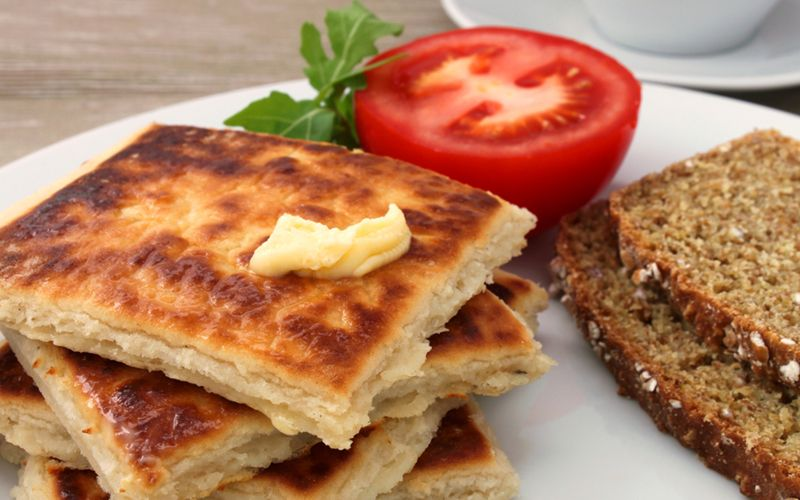 Fadge (Irish Potato Cakes). Image: Getty.