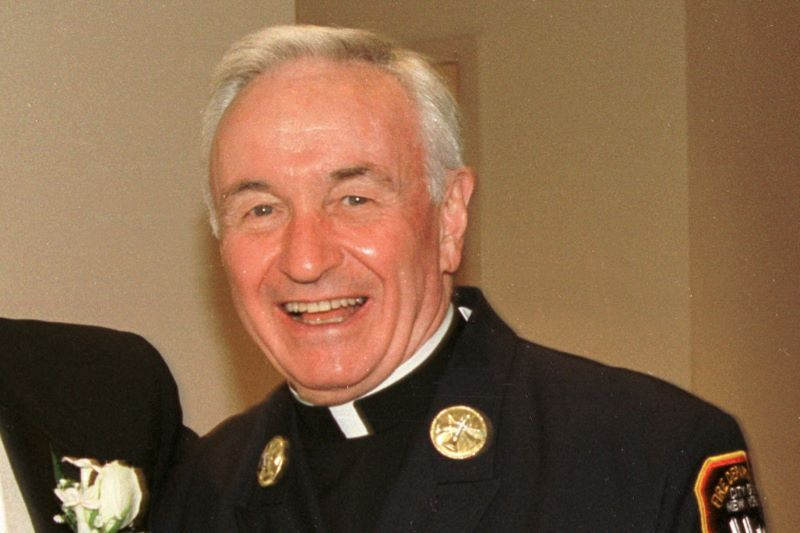 Father Mychal Judge. (Getty Images)