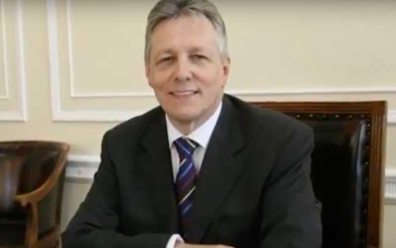 Peter Robinson. Credit: YouTube/The Firemen