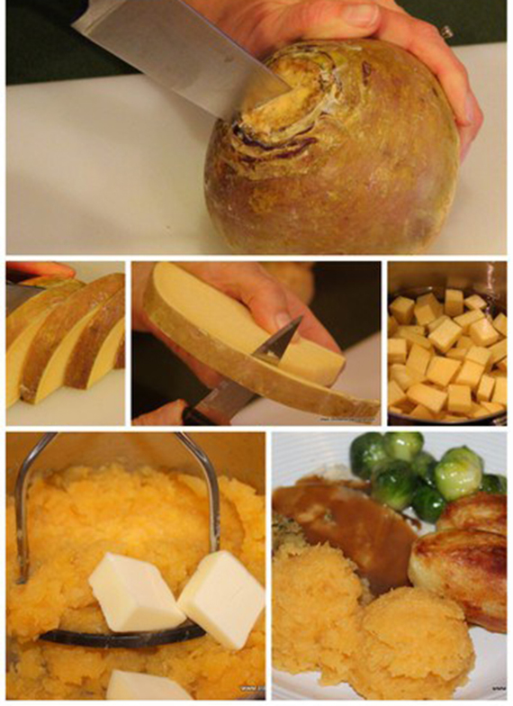 What to do with the rutabaga once you've prepped it!