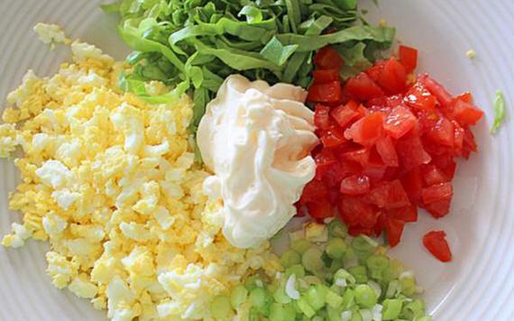 Irish Egg Salad Sandwiches Recipe