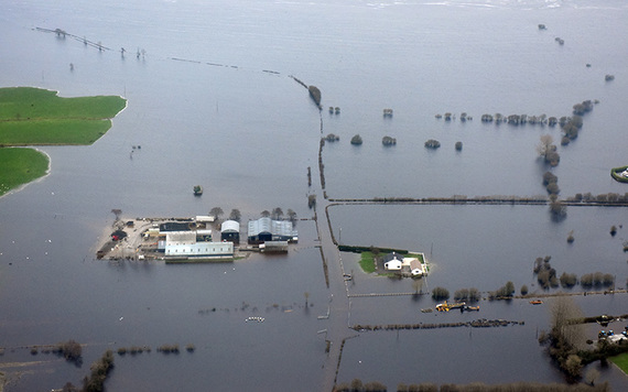 Aerial Images captured by Air Corps personnel of the areas in Galway affected by flooding during 2015.   (RollingNews,ie)