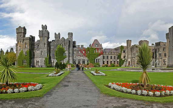 The stunning Ashford Castle, in Cong, County Mayo