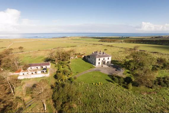 Atlantic sea view in Easkey, County Sligo