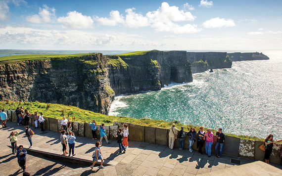 Cliffs of Moher. Photo: CIE Tours