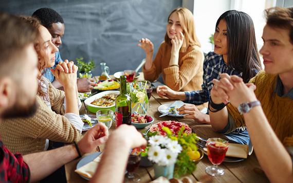 Friendgiving - recreating the warmth and fun of Thanksgiving when your family's not available. Will you be doing this at Thanksgiving in Ireland?