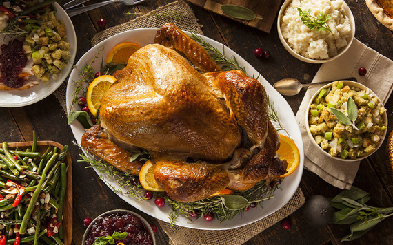 Where the Irish behind the first Thanksgiving dinner? Image: iStock.