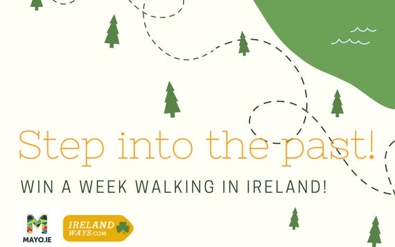 Step into the past! Walk for five days in Ireland.