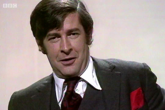 A still of Dave Allen during a BBC performance.