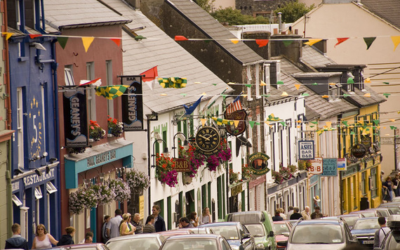 Dingle town.