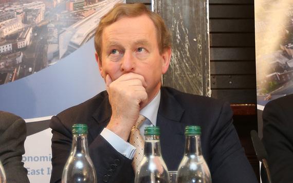Irish leader Enda Kenny.