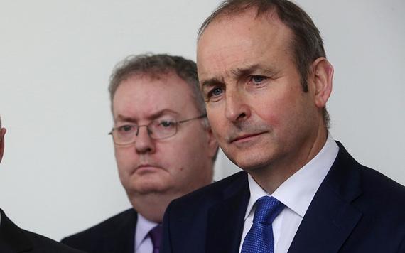 Fianna Fail leader Micheal Martin.