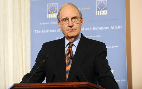 Former Senator and US Envoy to Northern Ireland George Mitchell.