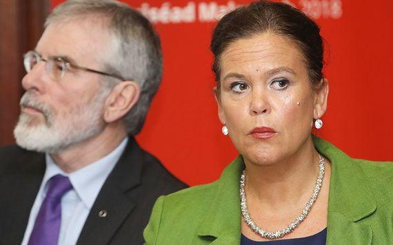 Sinn Fein Leader Mary Lou McDonald.