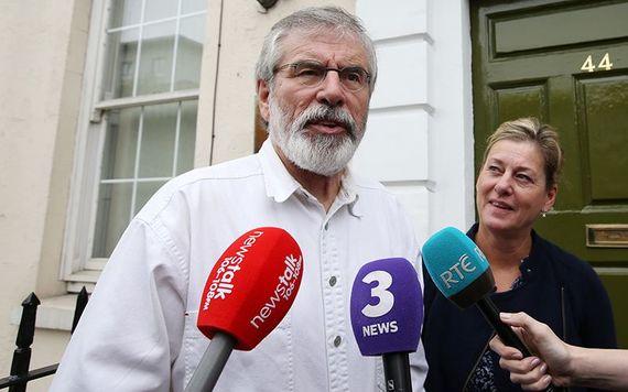 Gerry Adams: Former president of Sinn Fein.
