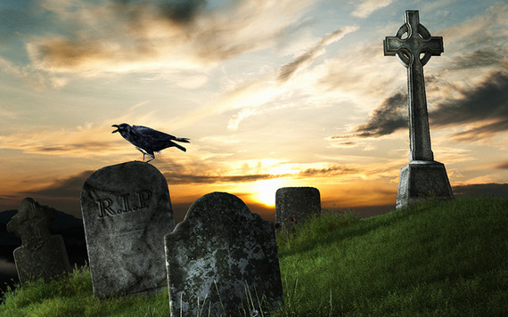 If you trip and fall in a graveyard you will most likely die by the end of the year.
