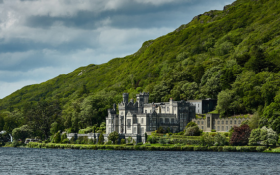Kylemore Abbey.