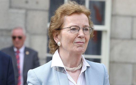 La ex presidenta de Irlanda Mary Robinson.  (RollingNews.ie)
