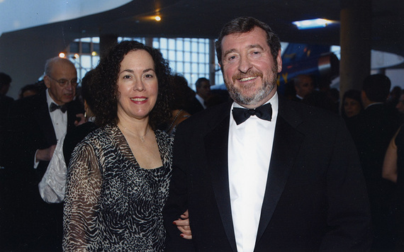 Michael Dowling and his wife Kathleen.