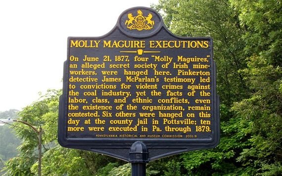 Old Jail Where The Molly Maguires Were Hanged Is For Sale