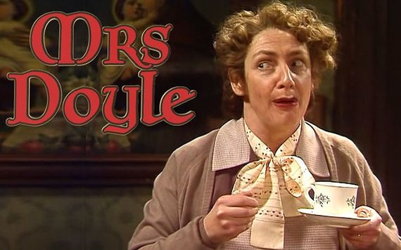 Father Ted's Mrs Doyle is the quintessential Irish Mammy.