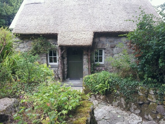 Restored pre-famine cottage County Galway