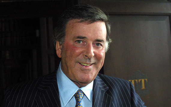 "Sir Terry Wogan - ""Everything's going to be all right, old boy""."