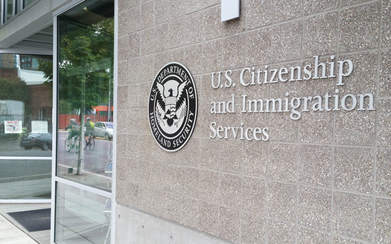 """She claimed in an email on that date that my file was with a courier on its way to the USCIS [United States Citizenship and Immigration Services], but this could not have been."""