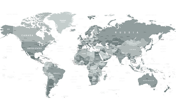 world map political without names fresh world map without country ...