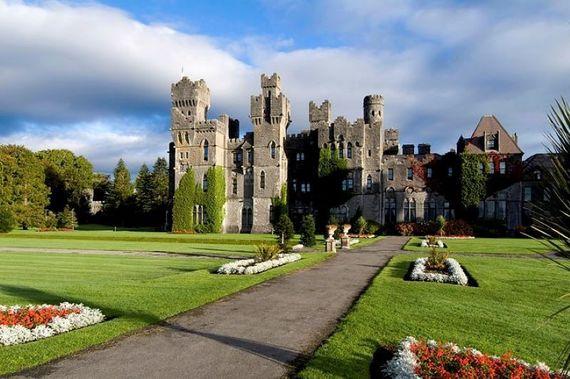 Ashford Castle, Cong, County Mayo.