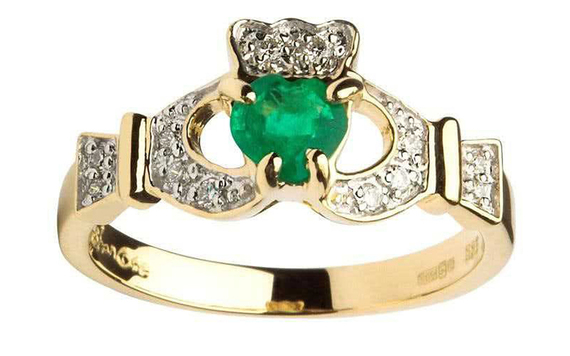 Gorgeous la s Claddagh rings for Valentine s Day
