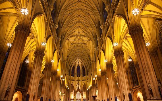 The Cathedral has 21 altars and 19 bells, each named after a different saint.