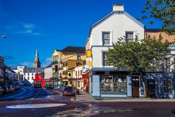 Killarney, the start and end of the Ring of Kerry. (Getty Images)
