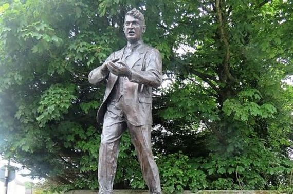 A statue of Michael Collins. (Ireland's Content Pool)